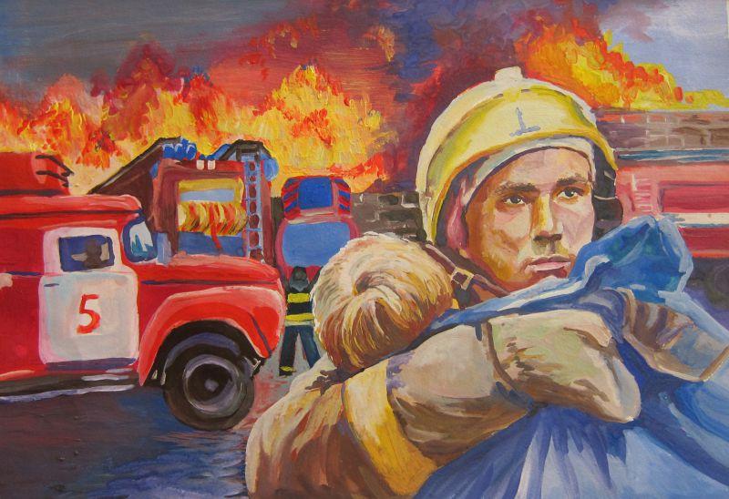 ЦОК РД поздравляет сотрудников и ветеранов противопожарной службы с Днем пожарной охраны России!